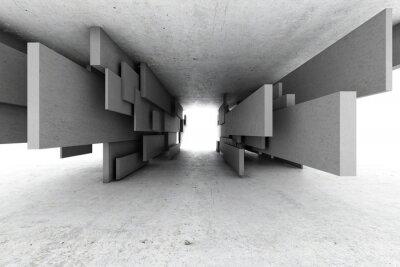 Obraz Abstraktní geometrické pozadí