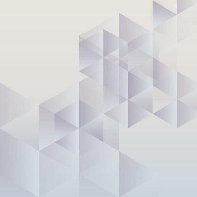 Obraz Abstraktní geometrické pozadí, moderní trojúhelníkové konstrukce