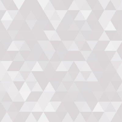 Obraz Abstraktní geometrické pozadí trojúhelníkového polygonu