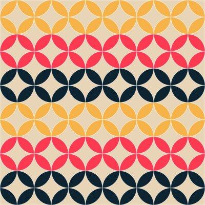Obraz abstraktní geometrické umělecký vzor