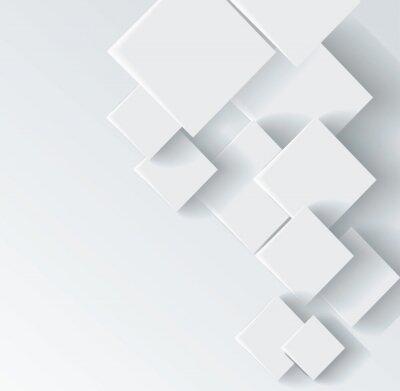 Obraz Abstraktní geometrický tvar z šedé kosočtverec