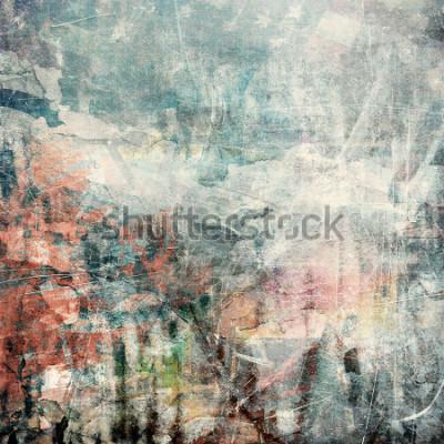 Obraz Abstraktní grunge pozadí, poškrábaný textury