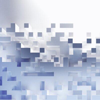 Obraz Abstraktní kostky tapety