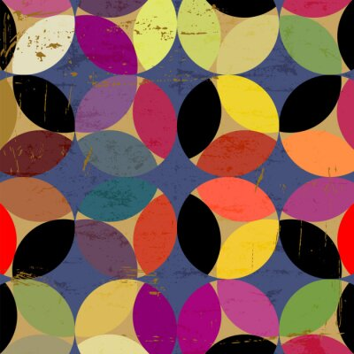 Obraz abstraktní kruh vzor