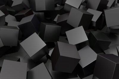 Obraz Abstraktní krychle