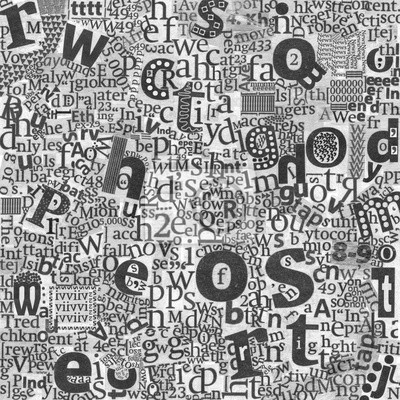 Abstraktní novin umění dopisy