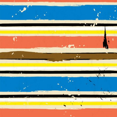 Obraz abstraktní pozadí s tahy a barevnosti, proužek vzor,