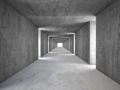 Obraz abstraktní tunel