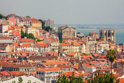 Obraz Aerial view of Lisbon, Portugal