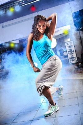 Obraz aerobik holka
