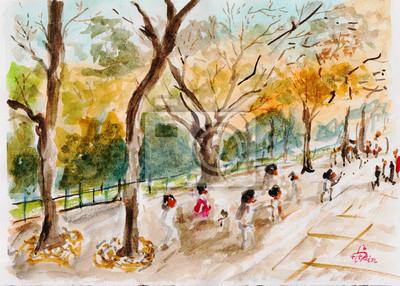 Akvarel Forest Garden