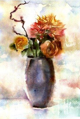 Obraz Akvarel kytice