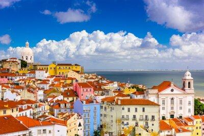 Obraz Alfama Lisabon panoráma
