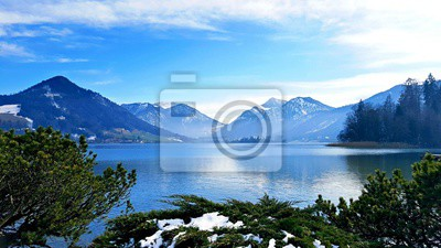 Obraz Alpine Modrá