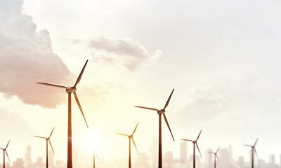 Obraz Alternativní větrná energie