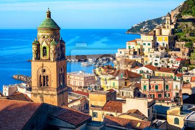 Amalfi Old town on Amalfi coast, Sorrentine peninsula, Italy