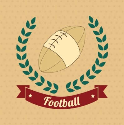 Obraz americký fotbal