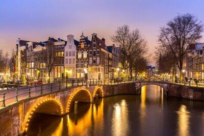 Obraz Amsterdam Kanály