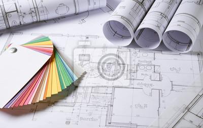 Obraz Architektura plány