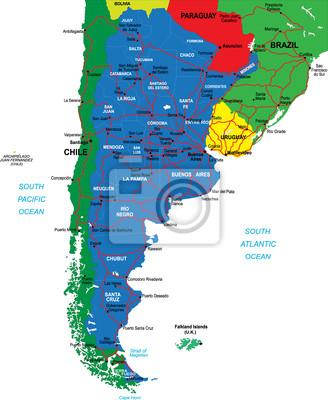 Argentina mapa