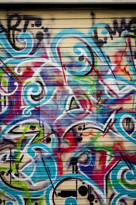 Obraz Arrière plán COLORE graffiti