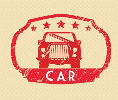 Obraz Auta návrh koncepce