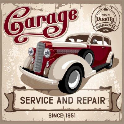 Obraz Auto servis