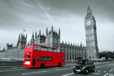 Obraz Autobus v Londýně