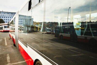Obraz Autobusová zastávka
