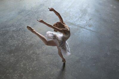Obraz baletka v interiéru