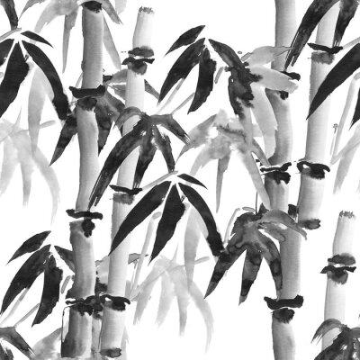Obraz bambus vzor