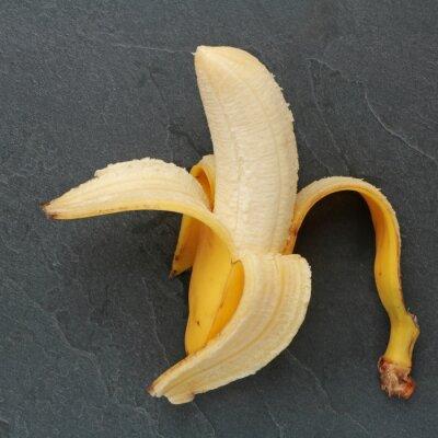 Obraz Banán sur ardoise