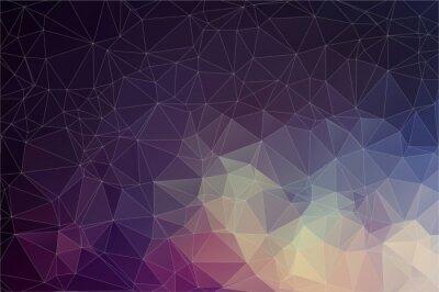 Obraz Barevné geometrické pozadí s trojúhelníky