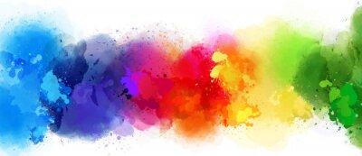Obraz barevné pozadí úvodní