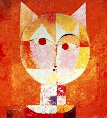 Obraz Barevný portrét Cat