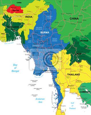 Barma mapa