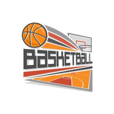 Obraz Basketbal logo