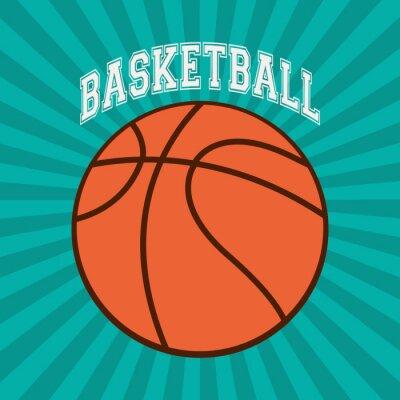 Obraz Basketbal sportovní design