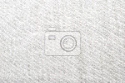 Bavlněné bílé tkaniny textury na pozadí,