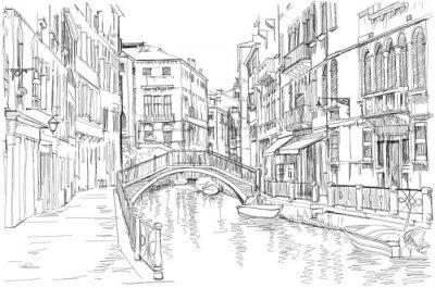Benátky - Fondamenta Rio Marin