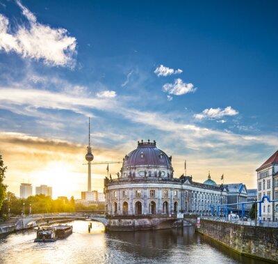 Obraz Berlin, Germany Scene na Muzejní ostrov