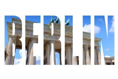 Obraz Berlín název města