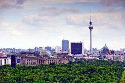 Obraz Berlín panoráma města