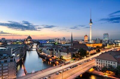 Obraz Berlín Skyline Panorama