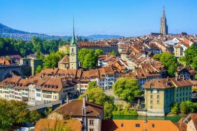 Bern city, the capital of Switzerland