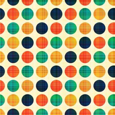 Obraz bezešvé abstraktní polka tečky vzor