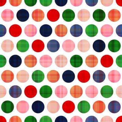 Obraz bezešvé puntíky vzor