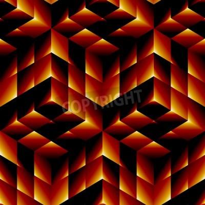 Obraz Bezproblémová geometrický vzor