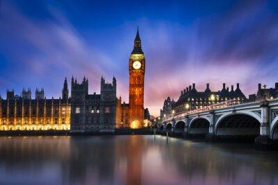 Obraz Big Ben a sídlu parlamentu