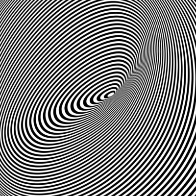 Obraz Black and White Opt umění pozadí